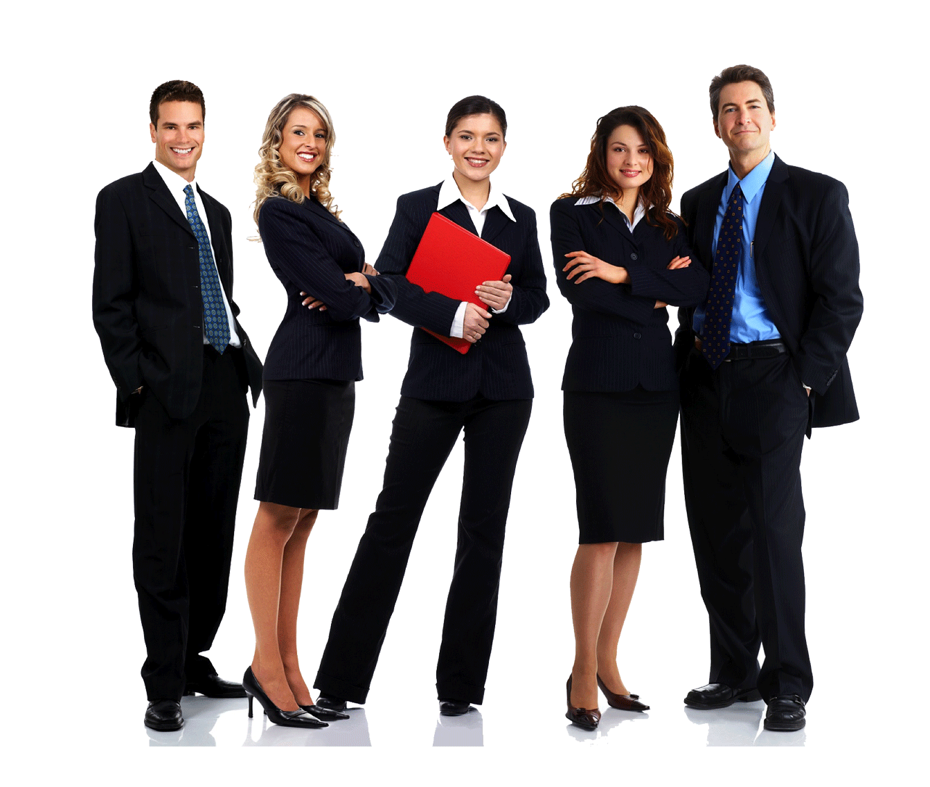 Business People PNG HD web
